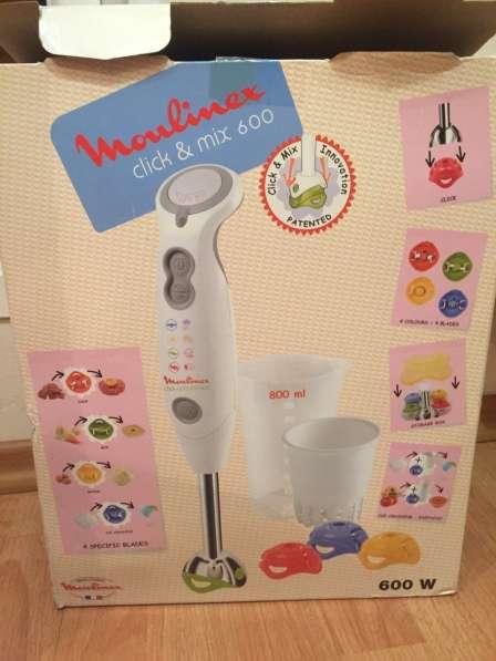 Блендер Moulinex click & mix 600