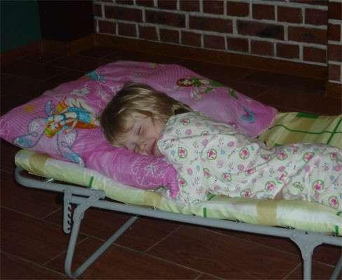 Кровать раскладная юниор