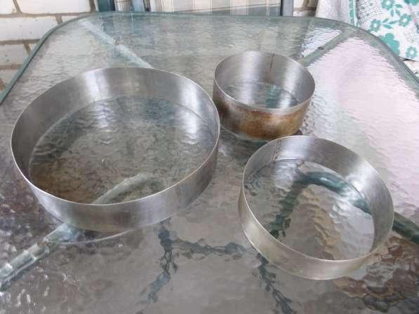 Формы для выпечки торов (нержавейка)