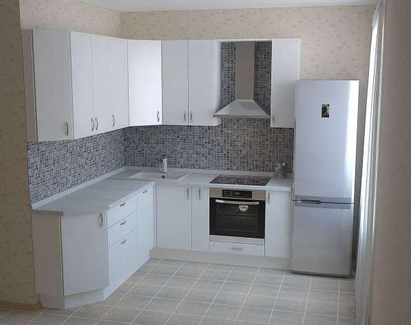Кухонный гарнитур: Белый глянец в Омске