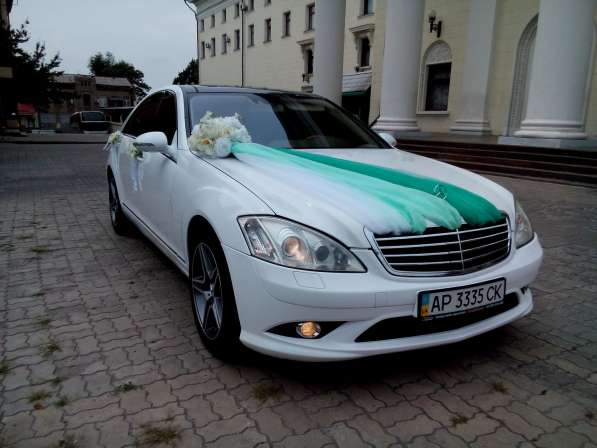 Свадебный автомобиль мерседес S600 W221 LONG