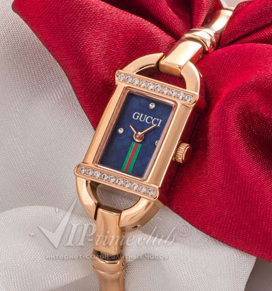 Часы Gucci Tornabuoni 6800L Diamond Gold Dia