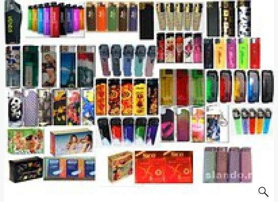 Прогдаем зажигалки и презервативы