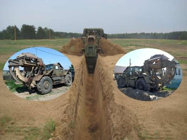 Траншеи для газопровода