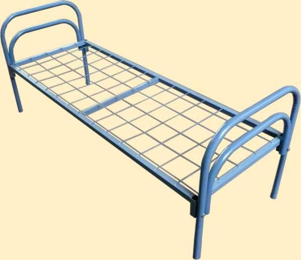 Металлические кровати для лагерей, рабочих, хостелов в Санкт-Петербурге фото 7