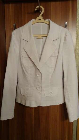 Пиджак из натурального хлопка