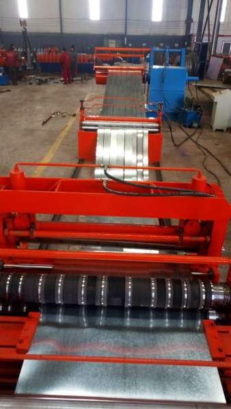 Линиядляпродольной и поперечнойрезкирулонного металла