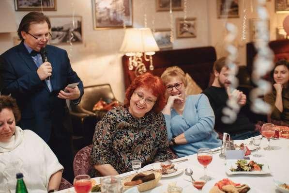 Ведущий юбилея Виктор Баринов в Королёве фото 7