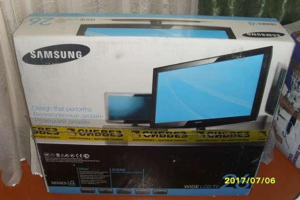Продам телевизор Samsung series 4 wide LCD 26