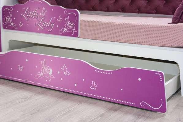 Детская кровать Алиса 1800 в Екатеринбурге фото 3