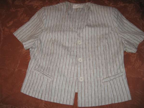 Льняной летний пиджачок