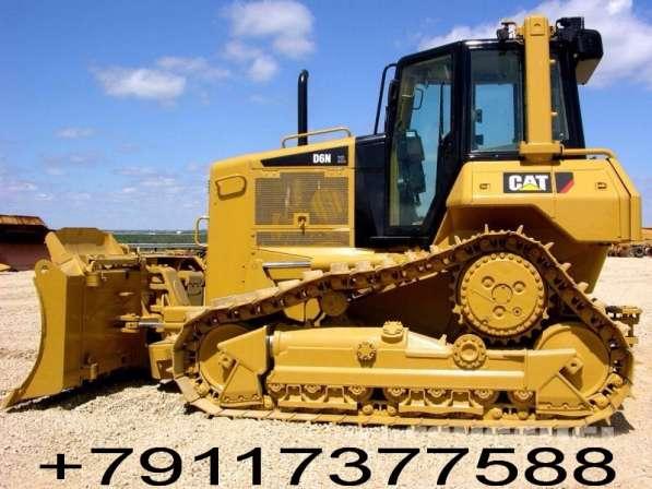 Запасные части бульдозеров Caterpillar D6N и D6M