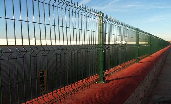 3D забор, 3Д сварная панель 1030x2500x4мм