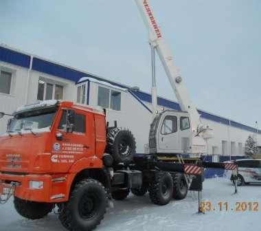 Автокран Челябинец КС-55732-21-25 (25т) К АЗ-43118 (6x6)
