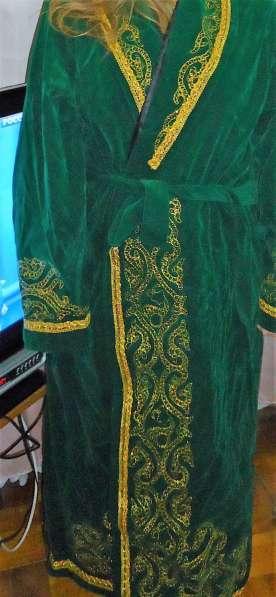 Продам Чапан мужской с Аир-Колпаком новый, размер 50-54, зел