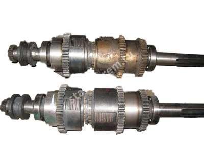 Вал фрикционный 1М63 (6 шлицов,8 шлицов)