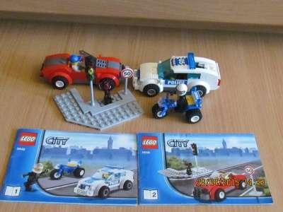 игрушку Лего сити Полицейская погоня