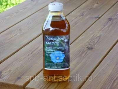 Твердое масло для деревянных поверхгосте