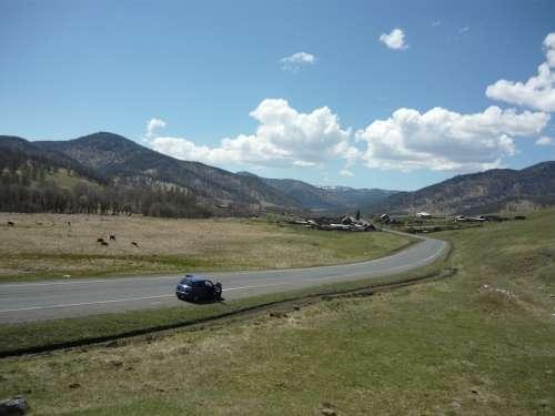 Земля на Алтае на трассе м-52,под турбизнес 5 ГА