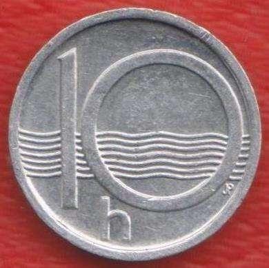 Чехия 10 геллеров 2002 г.