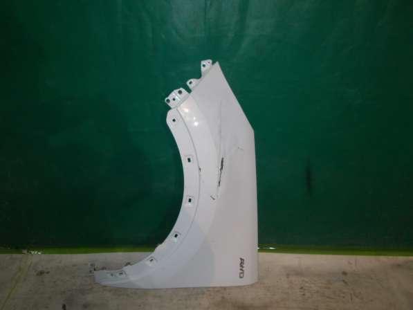 Kia Sportage 3 Переднее левое крыло(белый цвет) б/у оригинал