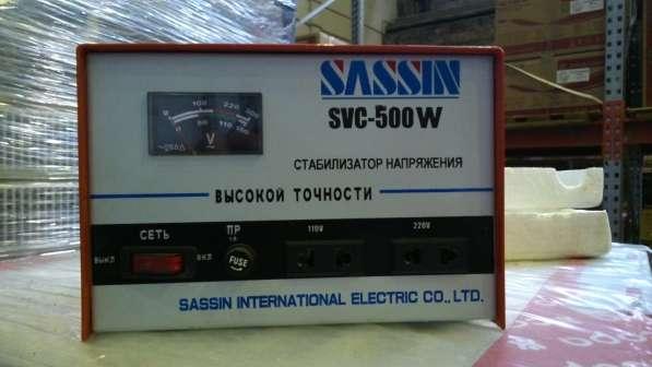 Стабилизаторы напряжения SVC-500 W