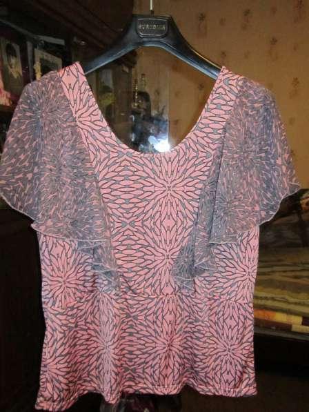 Новая летняя блузка (размер-54) в Москве фото 3