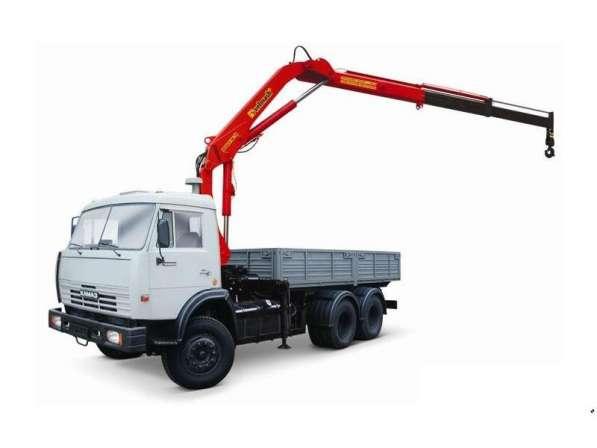 Аренда манипулятора кран 3 тонны борт 10 тонн в Самаре