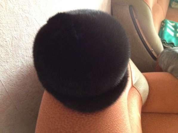 Продам шапку норковую б/у