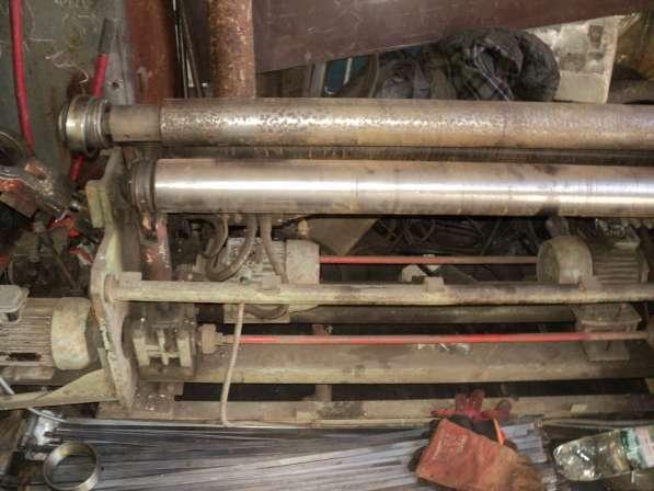 Вальцы трехвалковые верхний вал на 100 мм длина 125 см