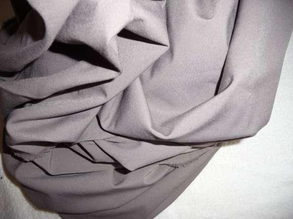 Отрез костюмной ткани, кофейная