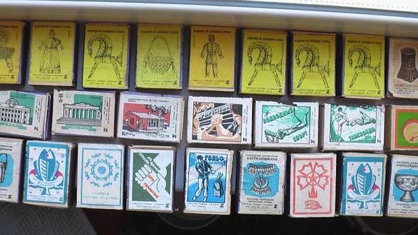 Коробки -этикетки СССР новые не чирканные 1960-80 со спичкам