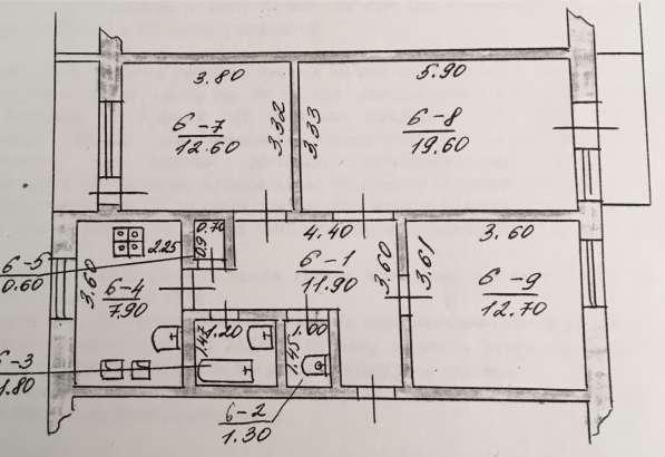 Продам 3-х комнатную квартиру в г. Новоселица