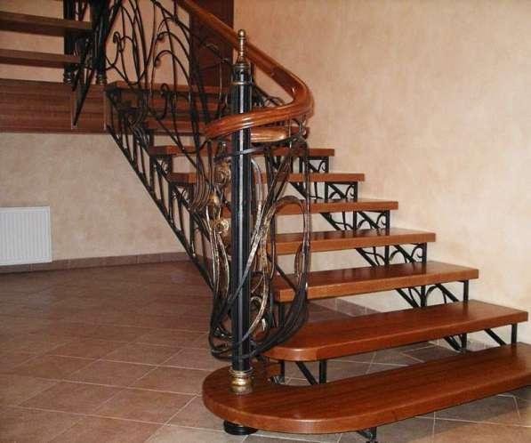 Кованые лестницы в Воронеже фото 3
