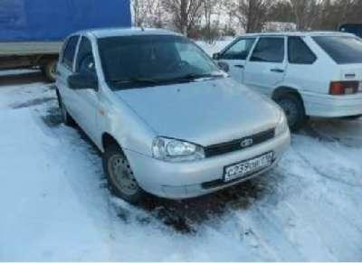 автомобиль ВАЗ 1117 Калина