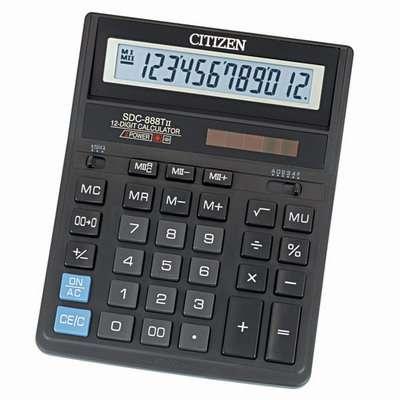 Калькулятор настольный Citizen SDC-888TII