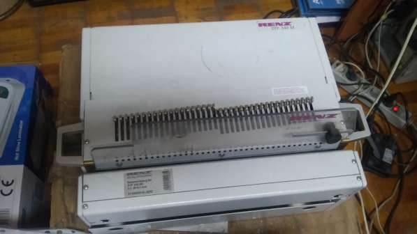 Электрическая настольная перфорирующая машина RENZ DTP 340