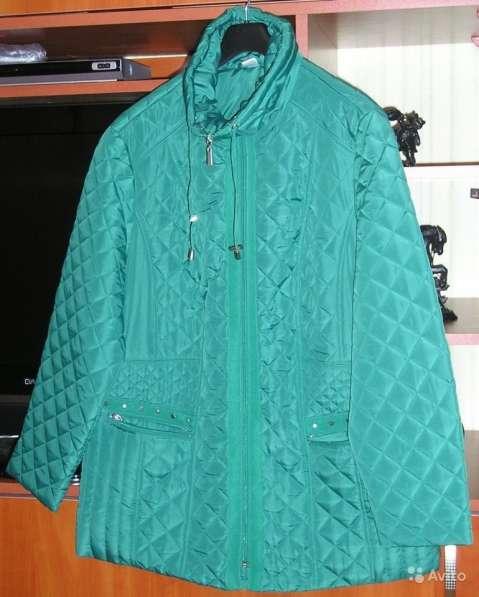 Куртка со стёжкой в виде ромбов