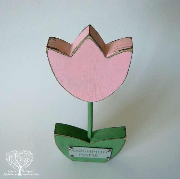 Интерьерный цветок с гравировкой в Тольятти фото 6