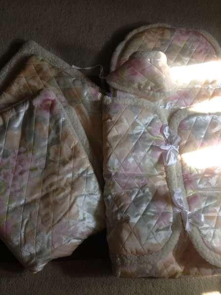 Конверт и одеяло