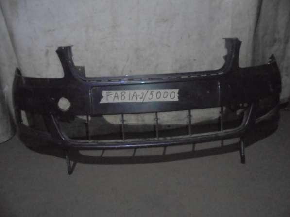 Skoda fabia передний бампер