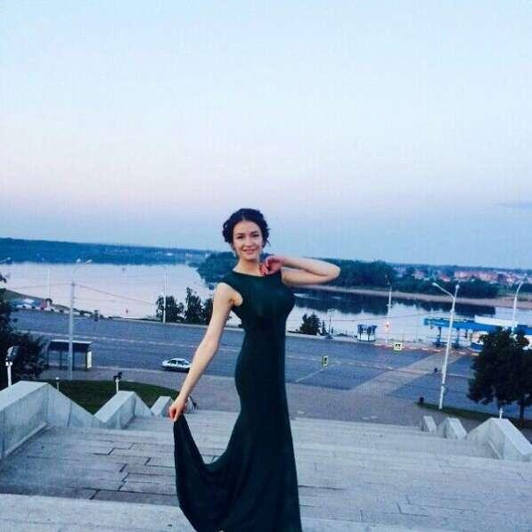 Вечернее платье в пол (S-M)