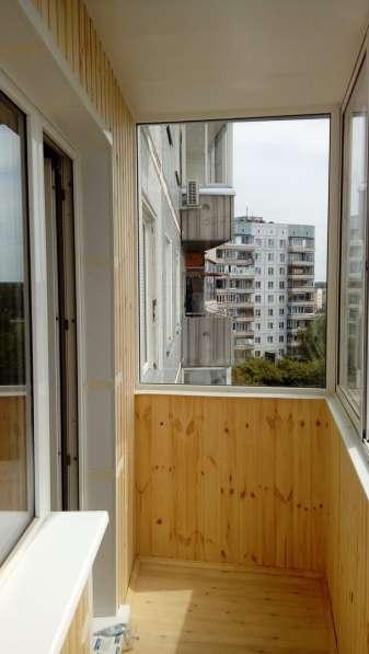 Остекление и обшивка балконов и лоджий в Новосибирске фото 6