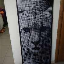 Перфорированная картина Леопард 600х1500 мм, в Краснодаре