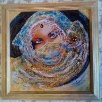 Интерьерная картина Богиня востока (живопись акрил), в Москве
