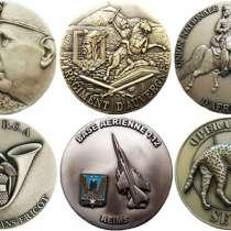 Французские полковые настольные медали, в Москве