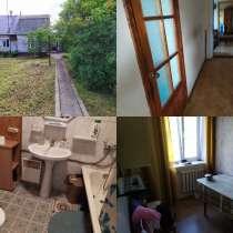 Часть, / 50 м2 /, жилого кирпичного дома на 10 сотках. Пмж, в Москве