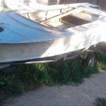 Продам лодку Обь алюминиевую, в г.Усть-Каменогорск