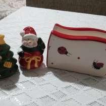 Продается фарфоровая салфетница, солонка и перечница, в г.Ташкент
