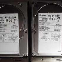 Серверные жёсткие диски SCSI Seagate ST336607LC (2 штуки), в Омске